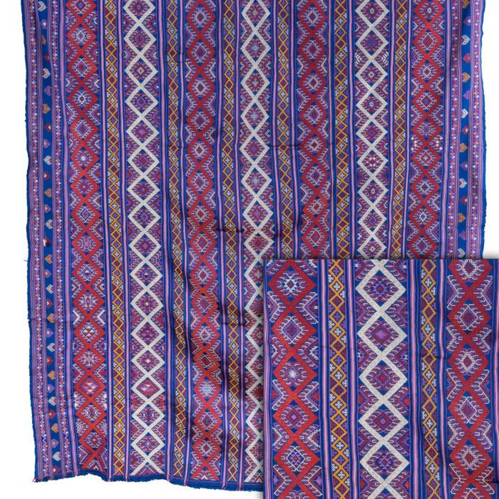 Bhutanese Silk Woven Kira Textile