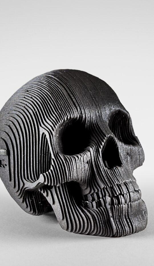 Black Card Skull