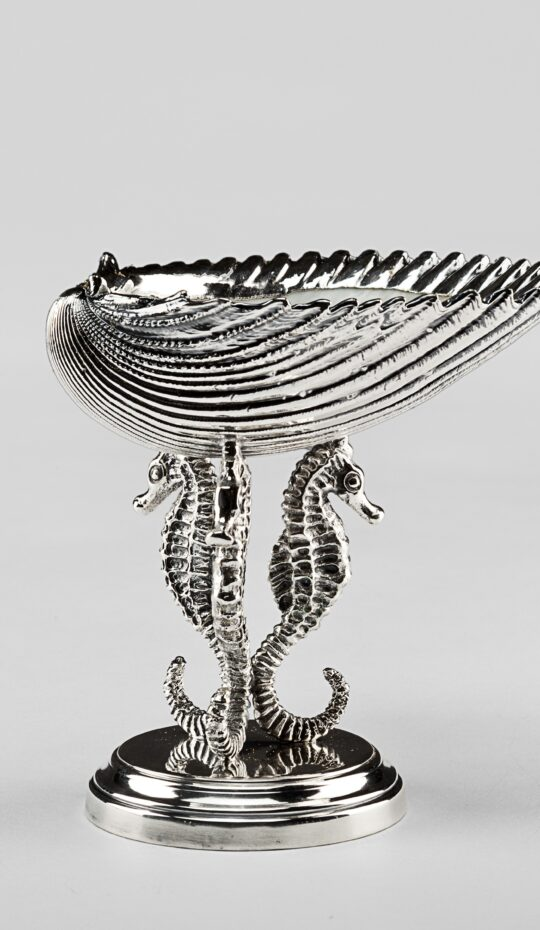 Mounted Silvered Cardium Bernini