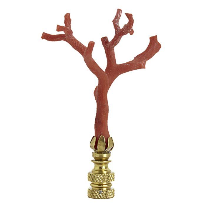 Coral Lamp Finial