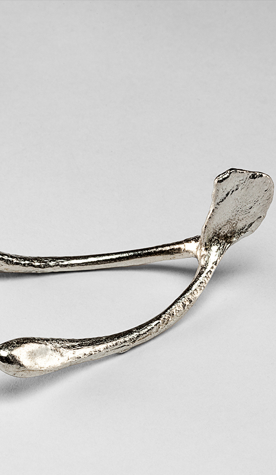 Creel and Gow Pewter Wishbone