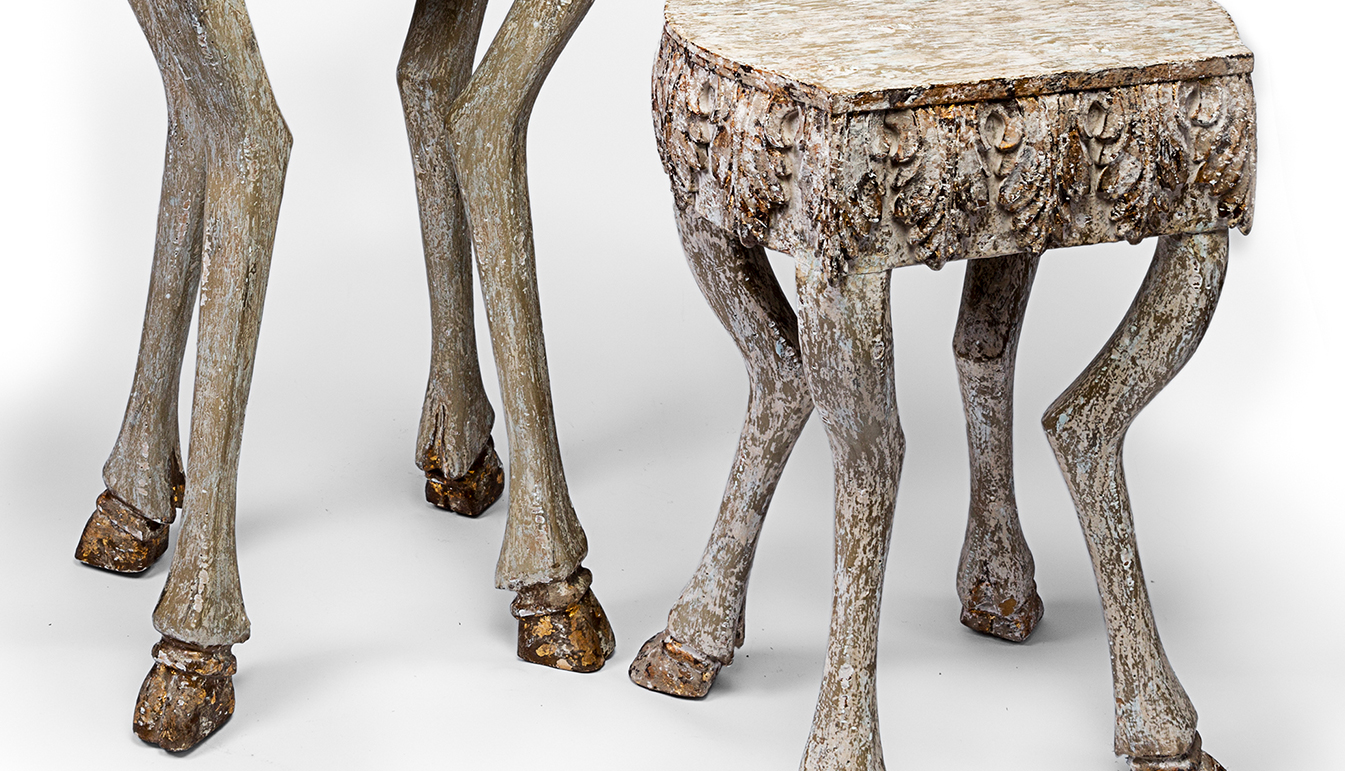 Hoofed Leg Table
