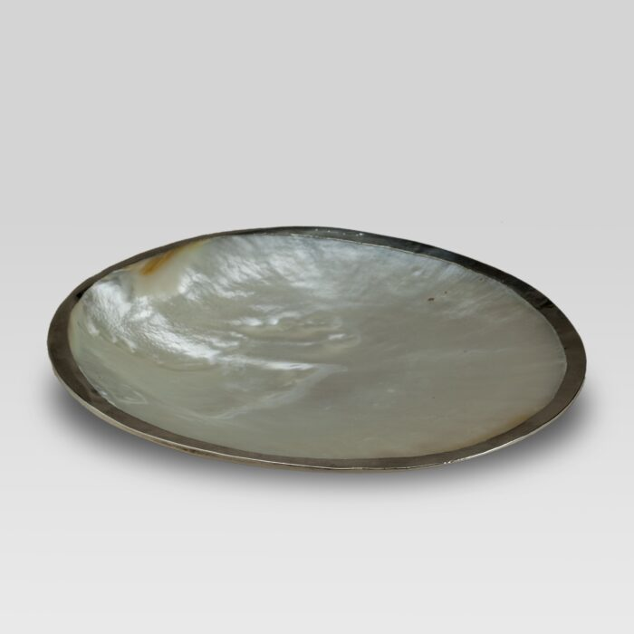 Melagrina mother of pearl dish partial