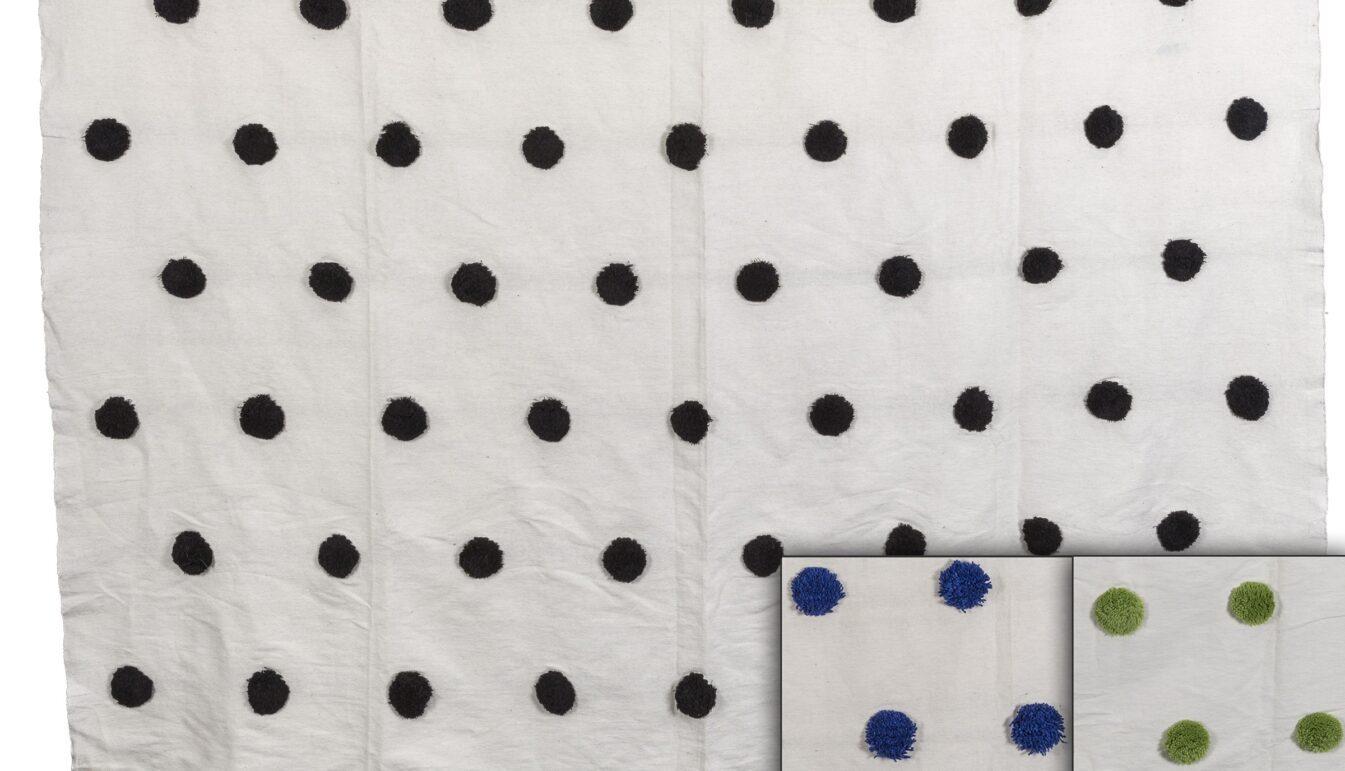 Moroccan Pom Pom Bedspread