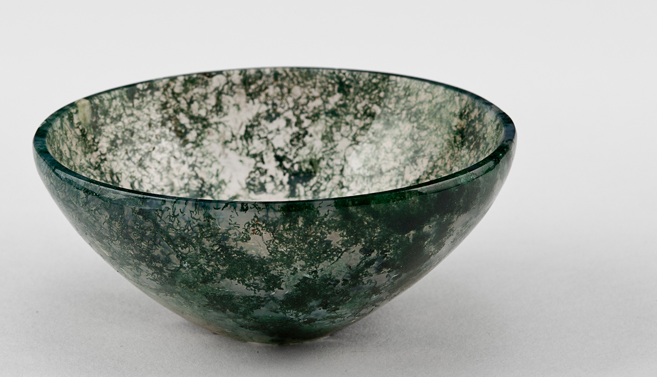 Moss Agate Bowl 2