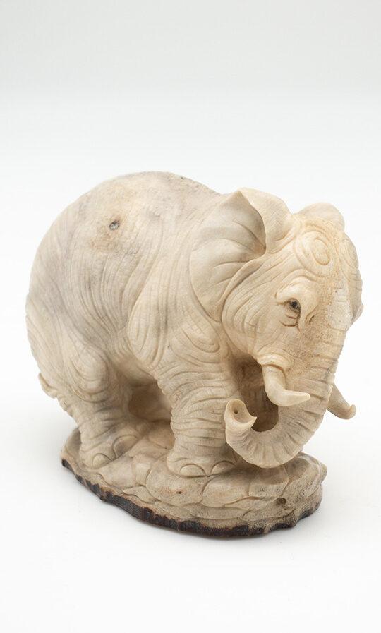 Elephant Moose Antler Carving