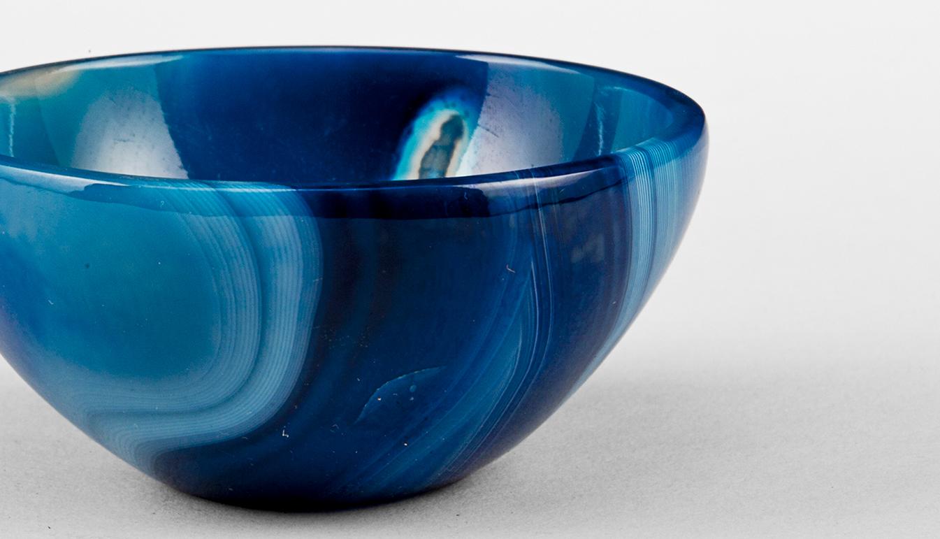 Onyx Blue Bowl