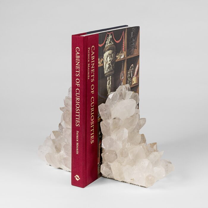 Rock Crystal Bookends Small