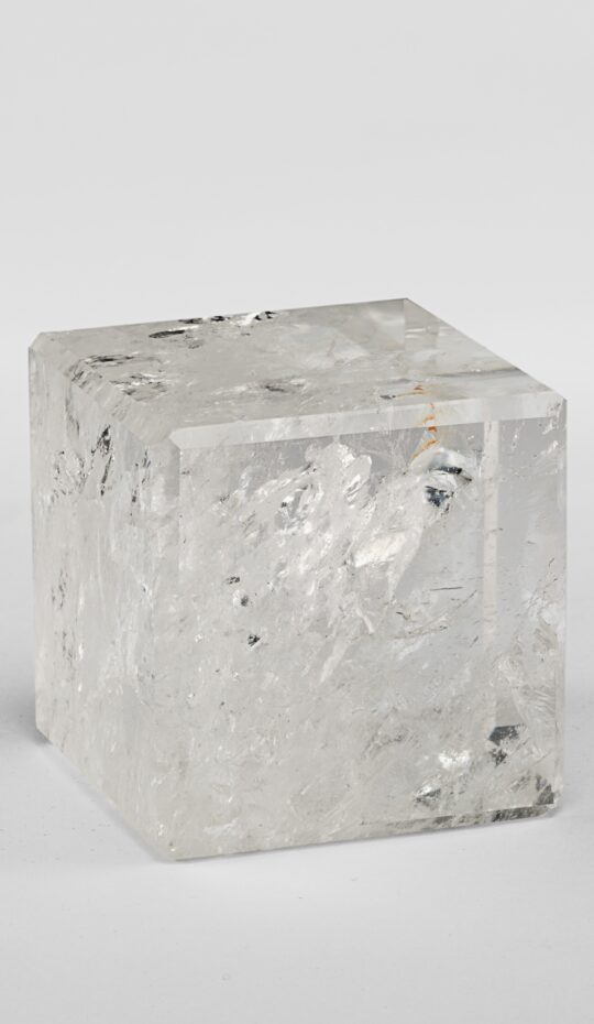 Rock Crystal Cube