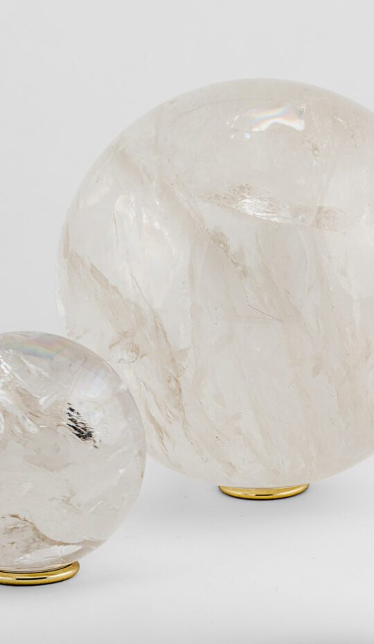 Rock Crystal Sphere