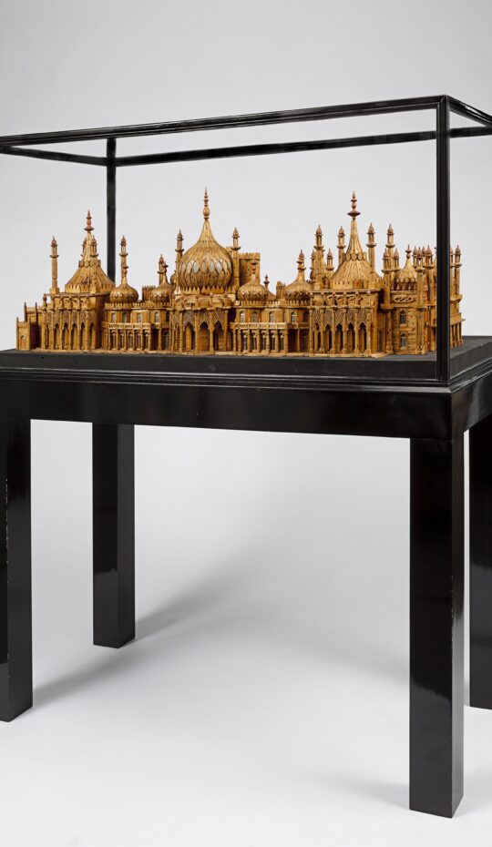Royal Brighton Pavilion Matchstick Model