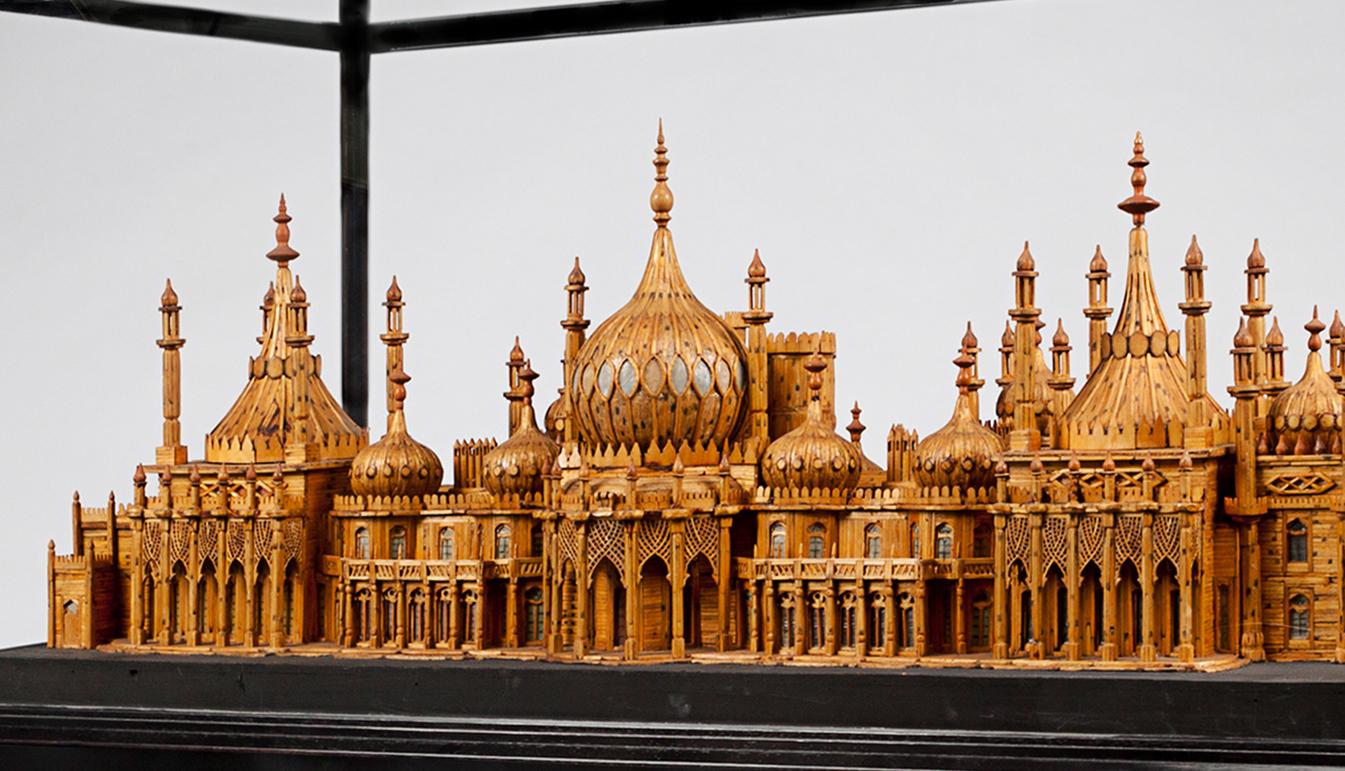 Royal Brighton Pavilion Matchstick Model