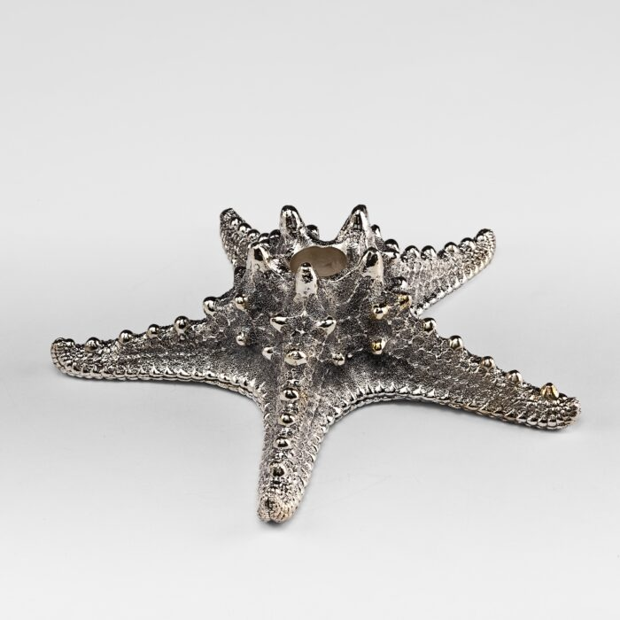 Silver Plated Star Fish