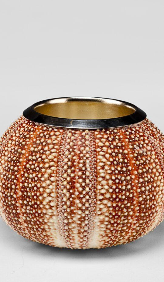 Sea Urchin Silver Penholder