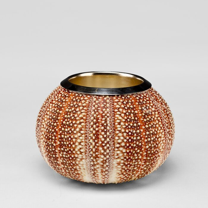 Large Sea Urchin Silver Penholder