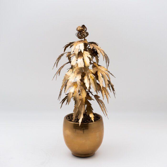 Park Avenue Pot Plant Gilded