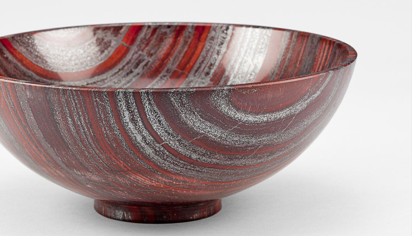 Haematite and Jasper bowl 6