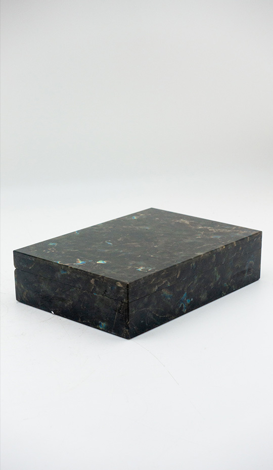 Labradorite Hinged Box