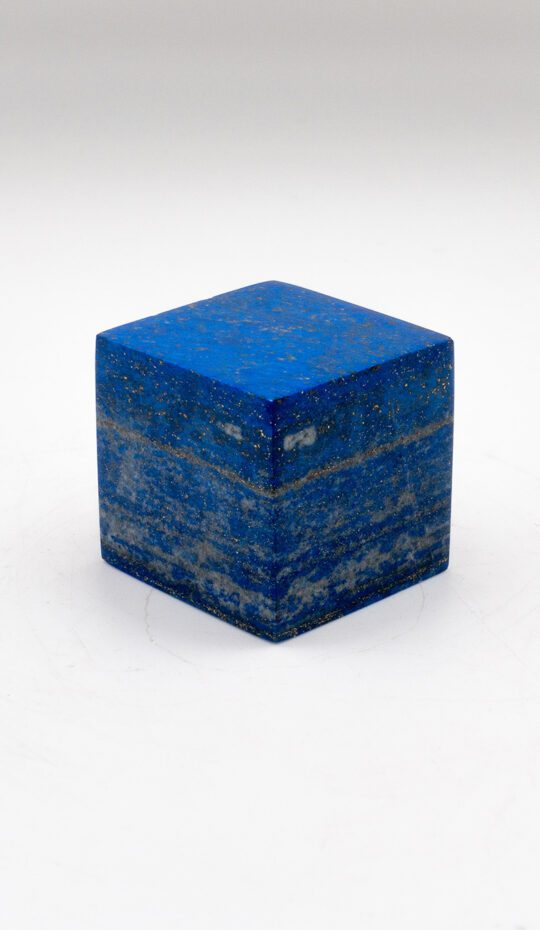 Lapis Lazuli Cube from Afghanistan 2.3″