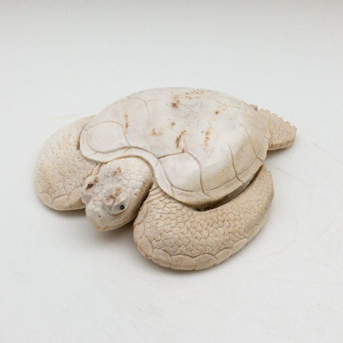 Turtle Moose Antler Carving