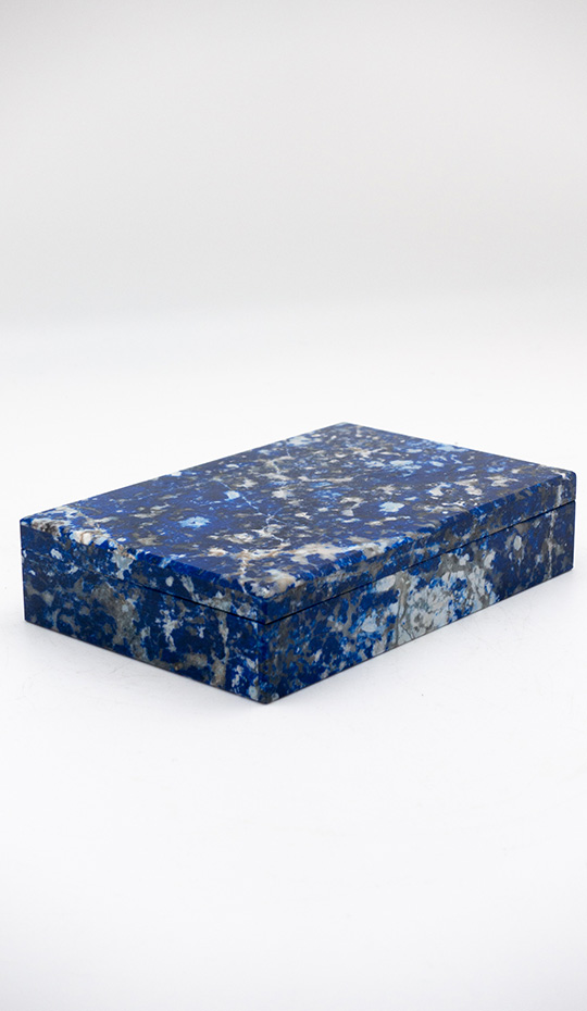 Sodalite Hinged Box