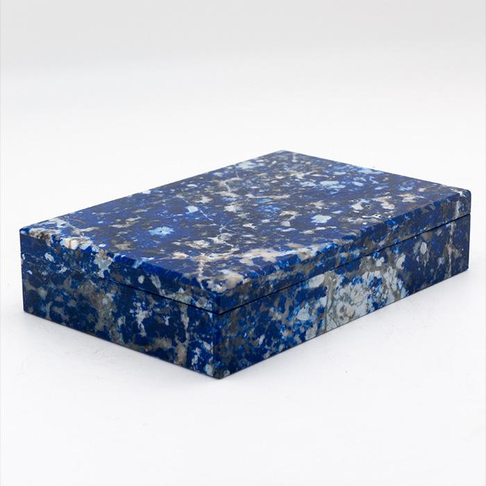 Sodalite Hinged Box