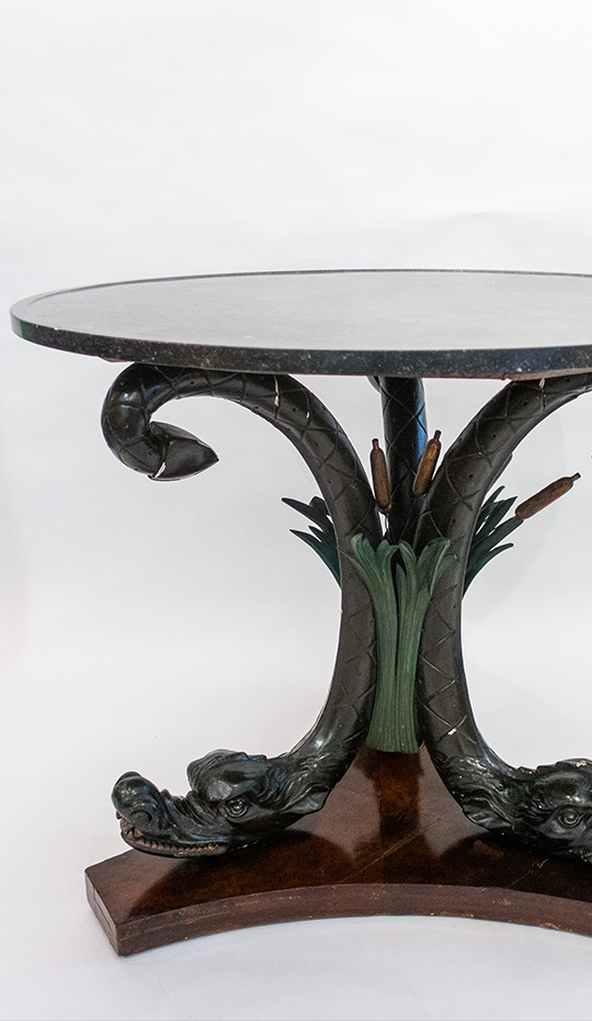 Neoclassical Center Table, Austrian, Late 19th Century