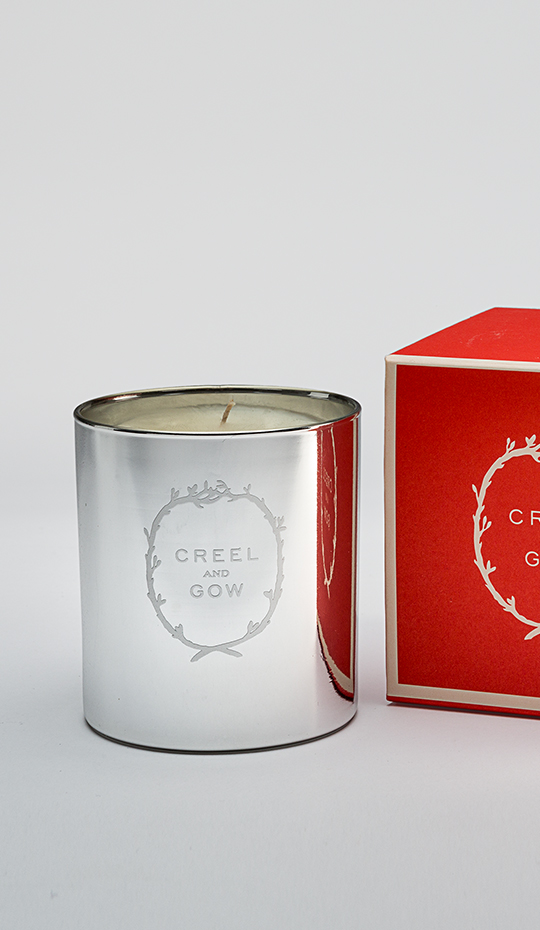 Creel and Gow Tea and Calendula Scented Candles