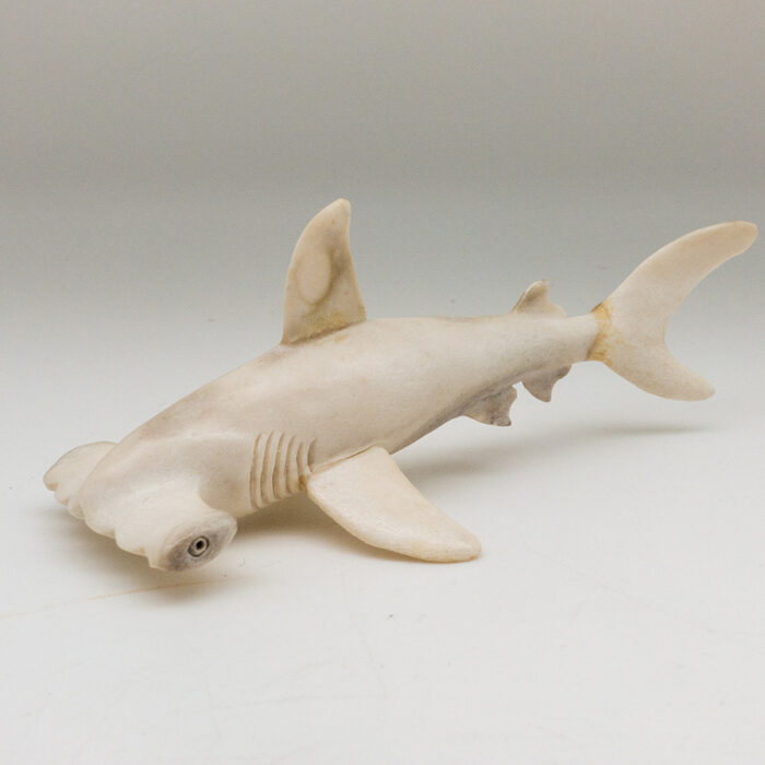 Hammerhead Shark Moose Antler Carving