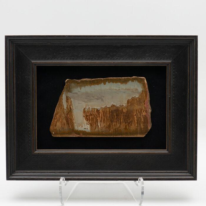 Framed Italian Pietra Paesina III