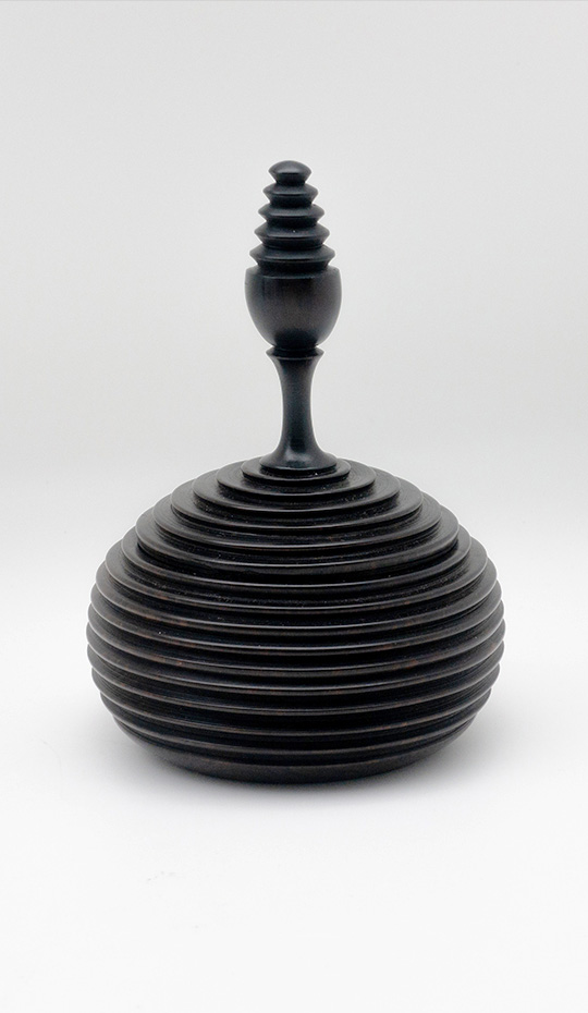 Turned Ebony Vessel I