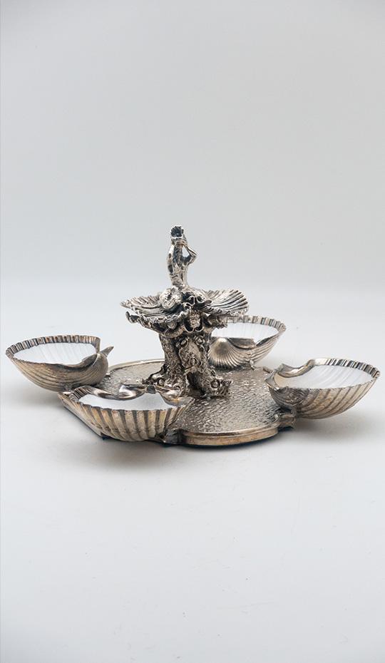 Silver Barberini Centerpiece