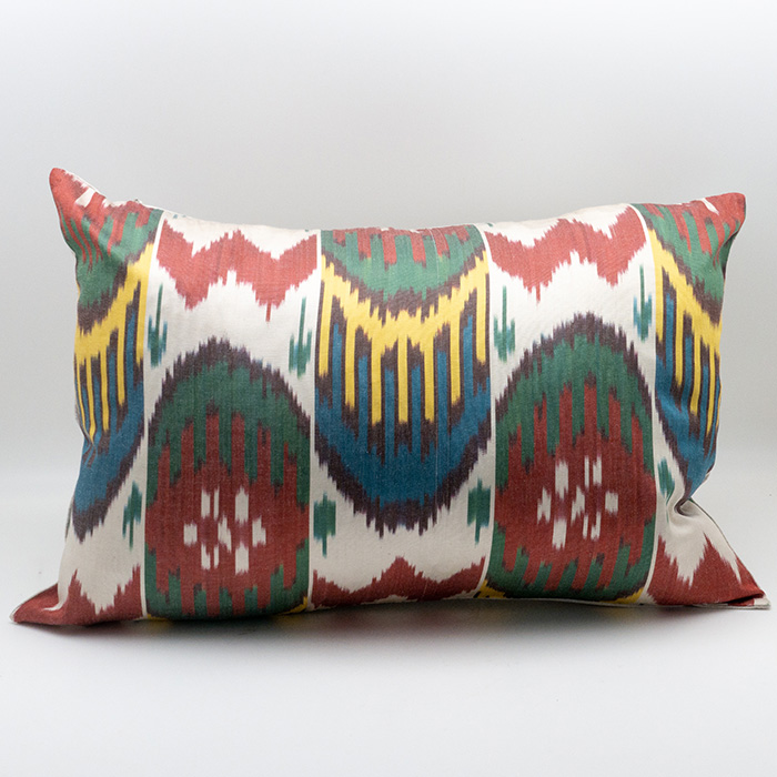 Ikat Pillow, Multicolor