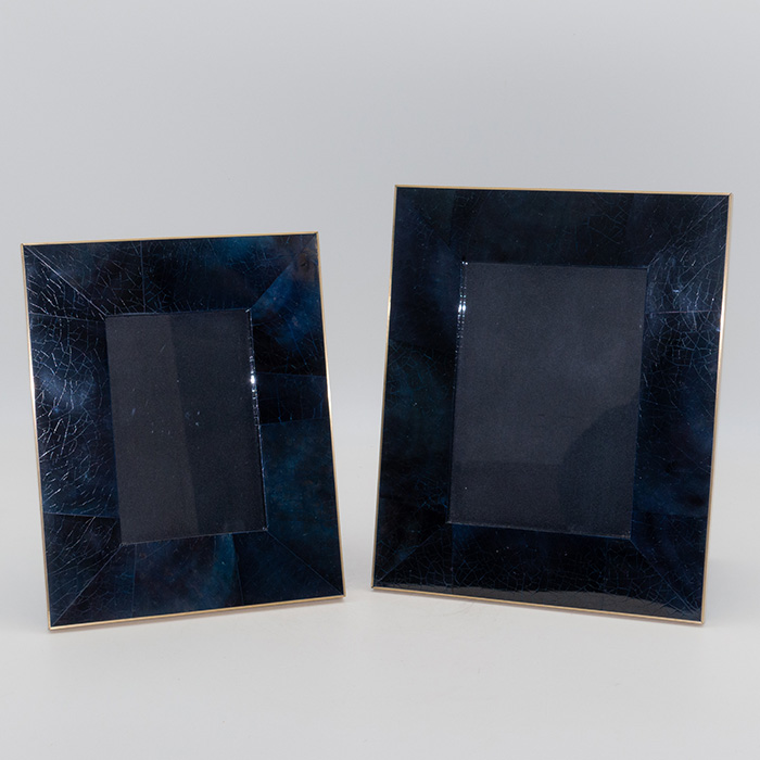 Penshell Picture Frame, Blue