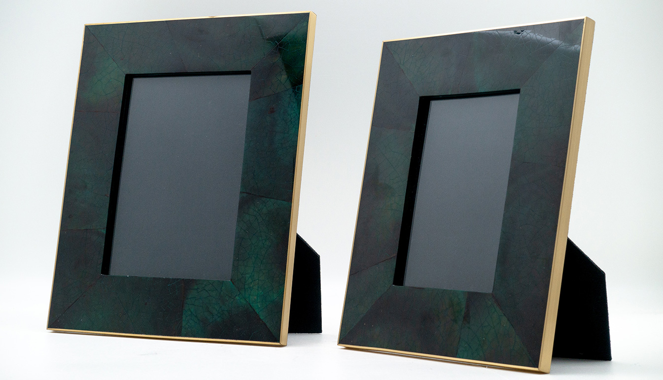 Penshell Picture Frame, Green