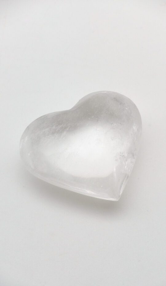 Rock Crystal Heart