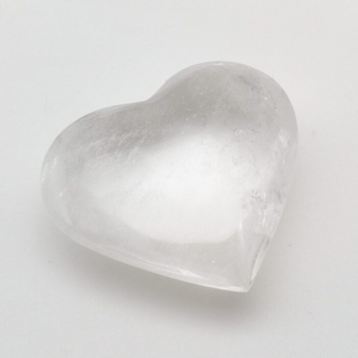 Rock Crystal Heart