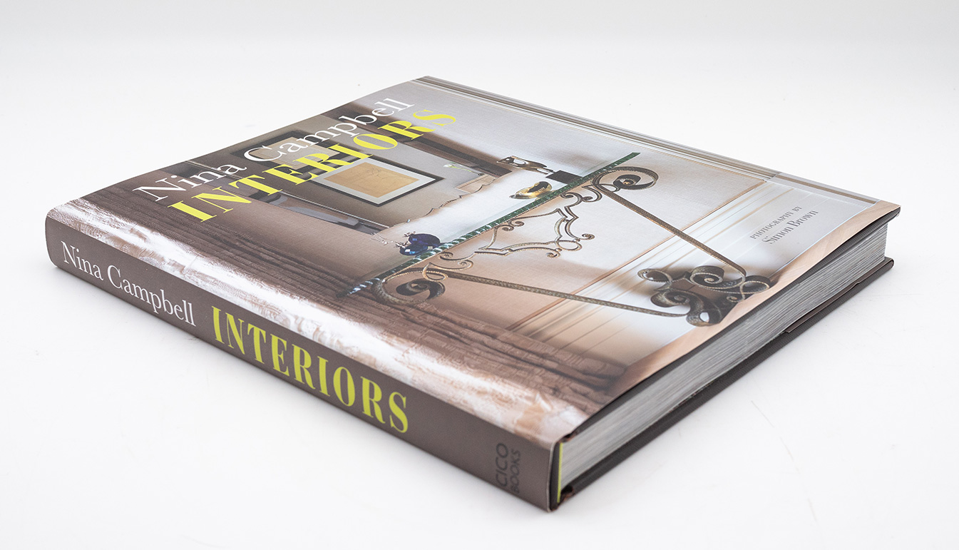 Nina Campbell: Interiors (Hardcover, Signed)
