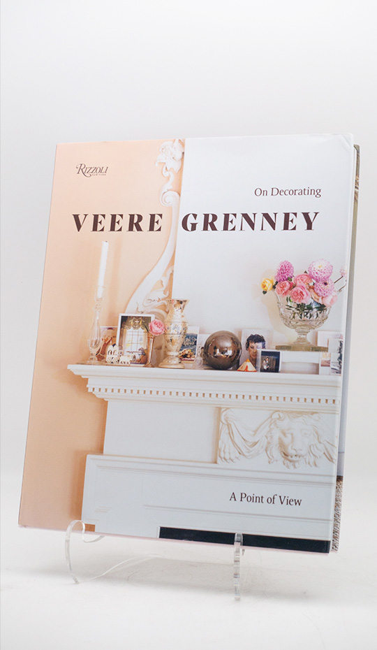 Veere Grenney: A Point of View (Hardcover, Signed)