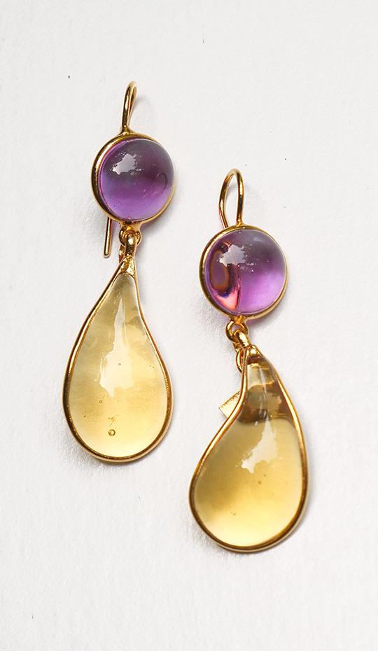 Loulou de la Falaise Bicolor Earrings I