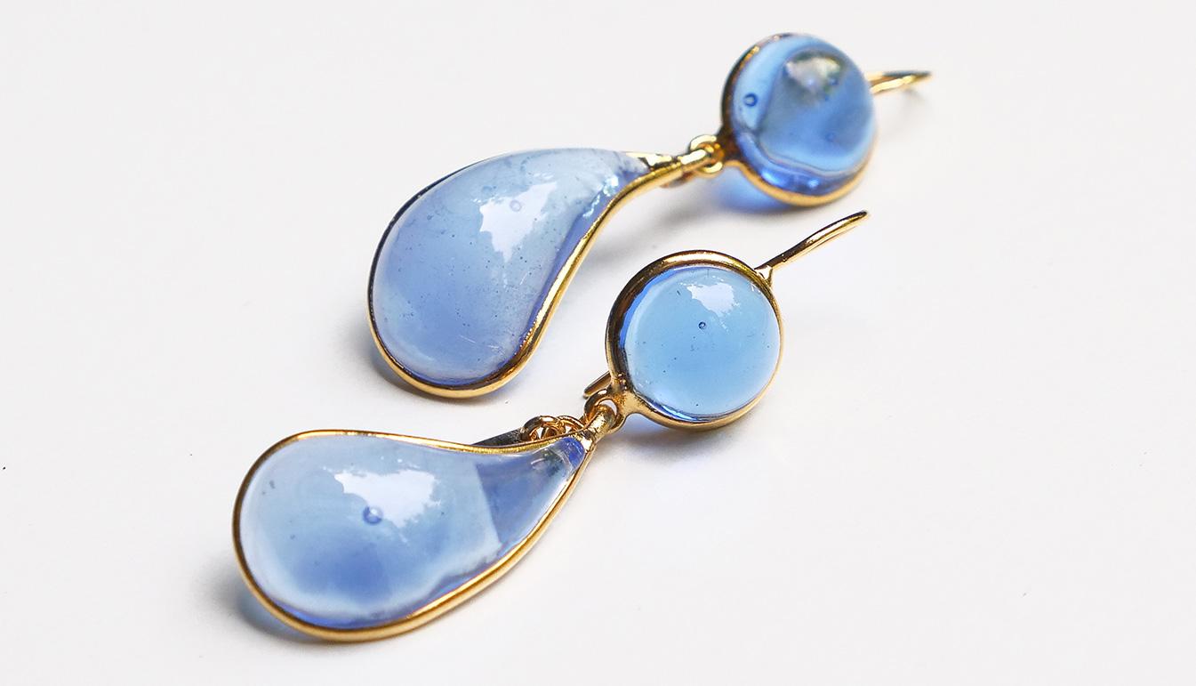 Loulou de la Falaise Bicolor Earrings III