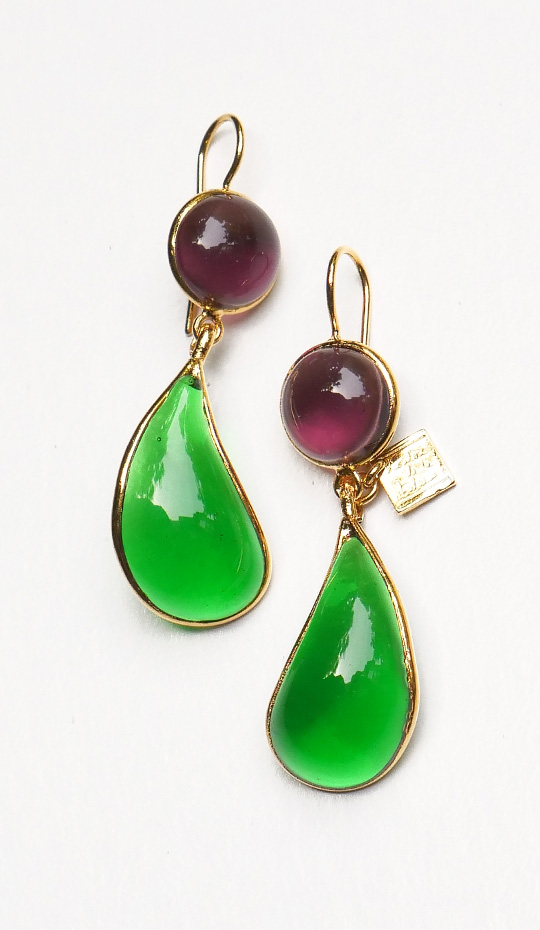 Loulou de la Falaise Bicolor Earrings IV