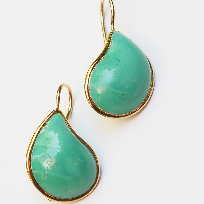 Loulou de la Falaise Teardrop Earrings II