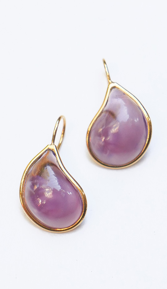 Loulou de la Falaise Teardrop Earrings IX