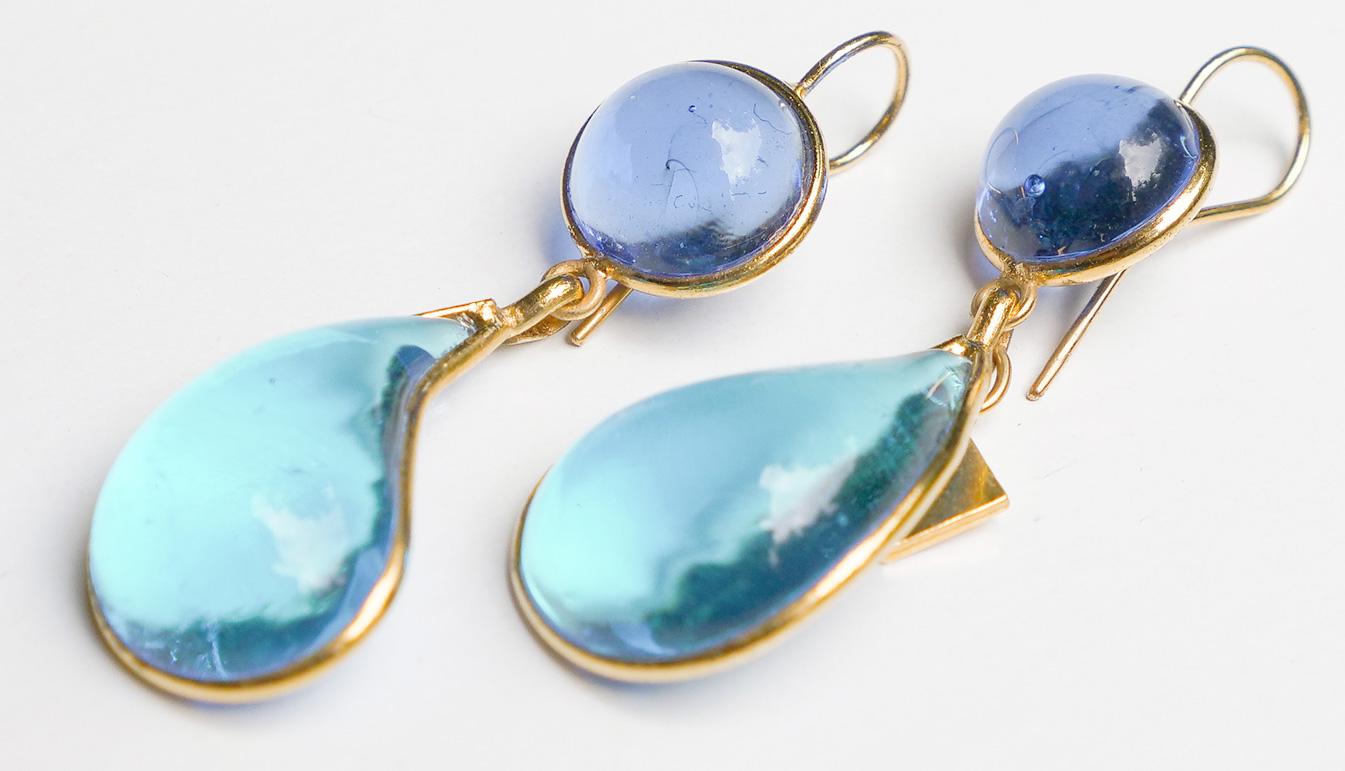 Loulou de la Falaise Bicolor Earrings XI