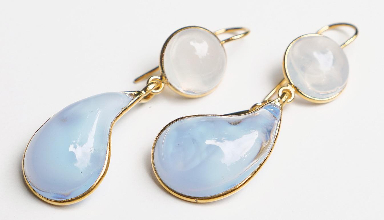 Loulou de la Falaise Bicolor Earrings X