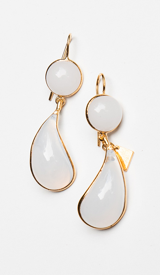 Loulou de la Falaise Bicolor Earrings V