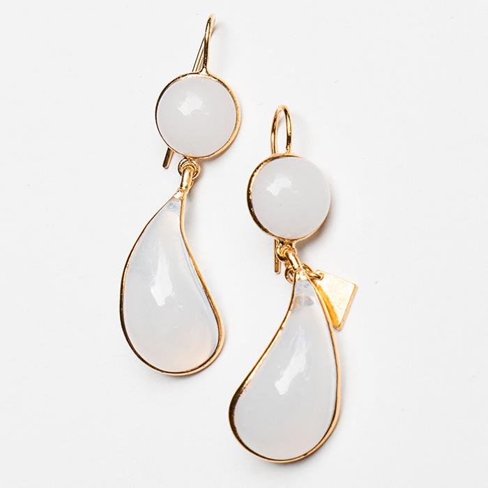 Loulou de la Falaise Bicolor Earrings V