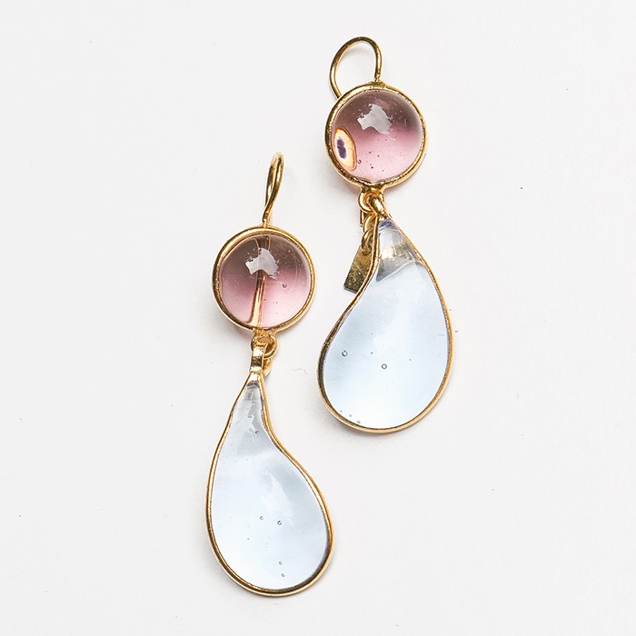 Loulou de la Falaise Bicolor Earrings VII