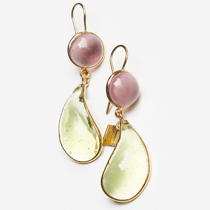 Loulou de la Falaise Bicolor Earrings VIII